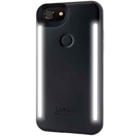 LuMee Duo iPhone 8 Double-Sided Lighting Case - Black