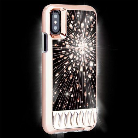 Iphone 8 Case >> Case-Mate Luminescent iPhone X Tough Light Up Case