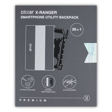 Olixar X-Ranger Everytool 26-in-1 Multi-Purpose Credit Card Tool