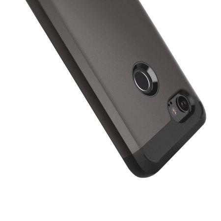 Caseology Legion Series Google Pixel 2 XL Starke Hülle - Gris cálido