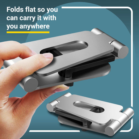 Olixar Universal Metall Ständer für Smartphones & Tablets
