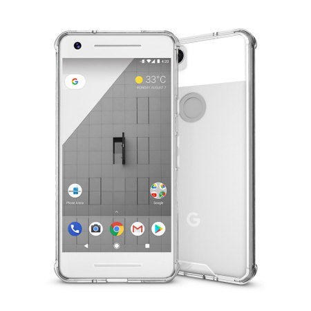 Olixar ExoShield Tough Snap-on Google Pixel 2 Case  - Crystal Clear