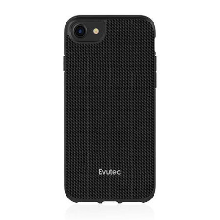 Evutec AERGO Ballistic Nylon iPhone 8 Tough Case & Vent Mount - Black