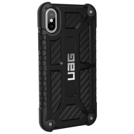 check out 0f907 42989 UAG Monarch Premium iPhone X Protective Case - Carbon Fibre