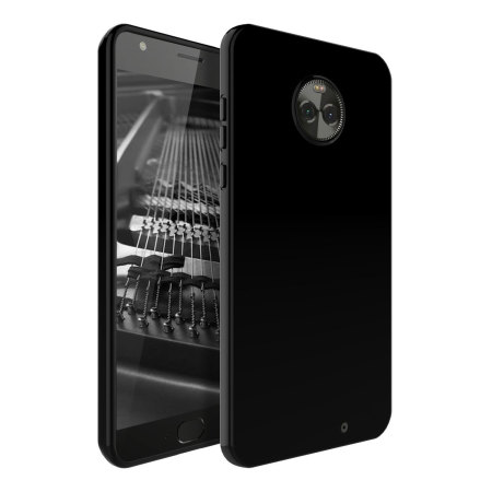 Olixar FlexiShield Motorola Moto X4 Gel Case - Solid Black