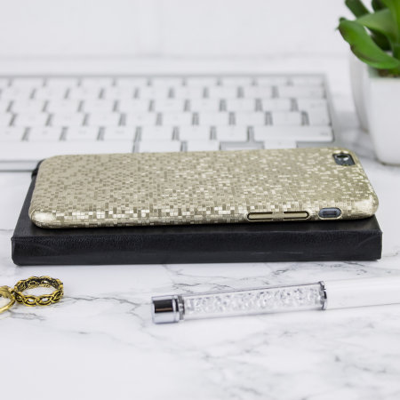 lovecases check yo self iphone 6s / 6 case - gold