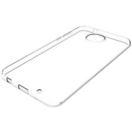 Olixar Ultra-Thin Motorola Moto X4 Gel Case - 100% Clear