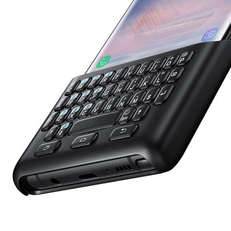 check out 724dd e75ba Official Samsung Galaxy Note 8 QWERTY Keyboard Cover - Black