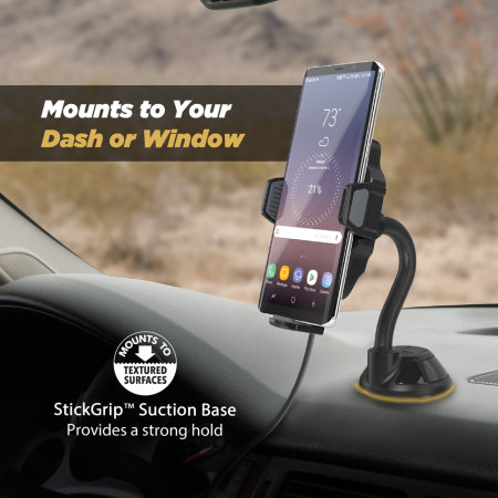 Scosche StuckUp Universal Wireless Charging In-Car Window / Dash Mount