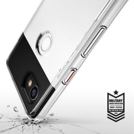 Funda Google Pixel 2 XL Rearth Ringke Fusion - Transparente
