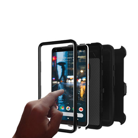 newest 3de76 e4778 OtterBox Defender Series Google Pixel 2 XL Case - Black