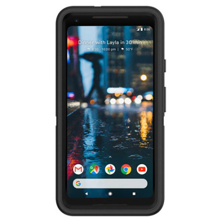 newest 61e3f 012c5 OtterBox Defender Series Google Pixel 2 XL Case - Black