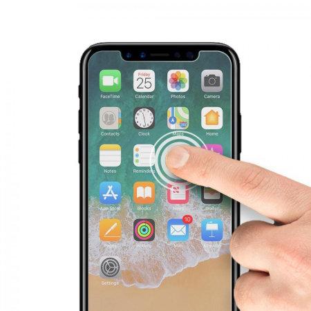 sale retailer 9167f 772c7 BodyGuardz Ultra Tough iPhone X Screen Protector