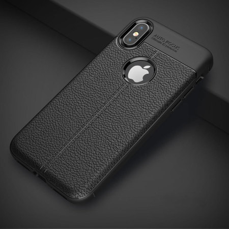 coque iphone x simili cuire