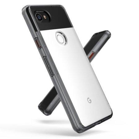 Rearth Ringke Fusion Case Google Pixel 2 XL Hülle - Smoke Black
