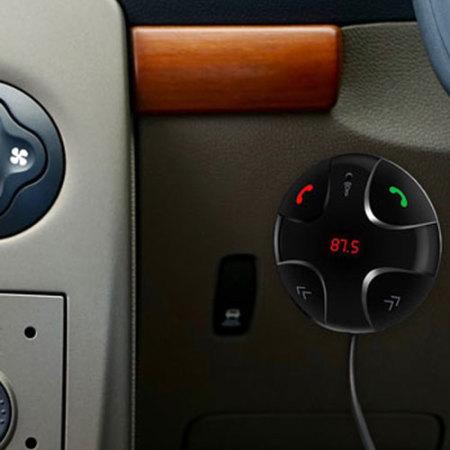 Transmetteur FM Bluetooth Voiture Forever avec chargeur 2.1A