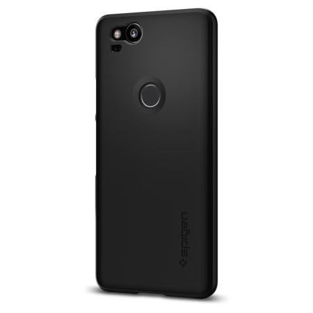 Spigen Thin Fit Google Pixel 2 Shell Case - Black
