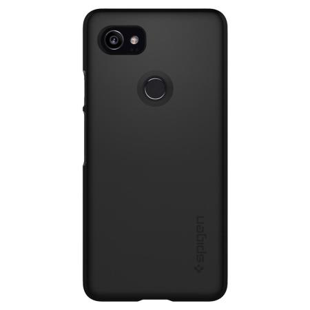 quality design c7a56 46f4d Spigen Thin Fit Google Pixel 2 XL Shell Case - Black