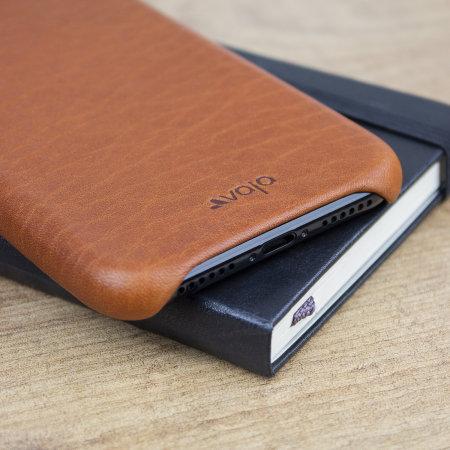 the latest cb911 99143 Vaja Grip Slim iPhone X Premium Leather Case - Tan