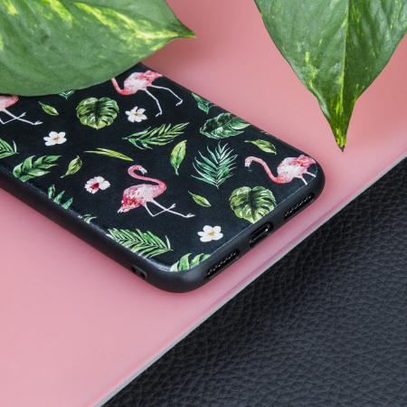 lovecases paradise lust iphone x case - flamingo fall