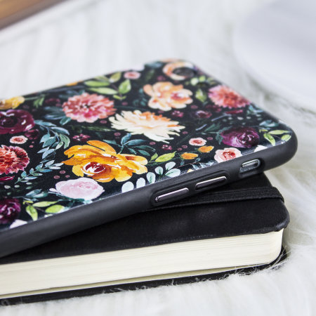 LoveCases Floral Art iPhone 6S Case - Black