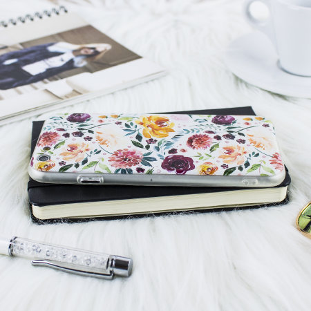 lovecases floral art iphone 6s / 6 case - white