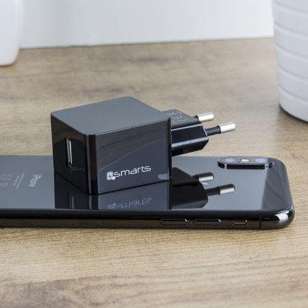 4smarts VoltPlug 2.4A Universal USB Wall Charger - EU Mains