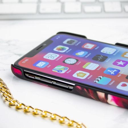 6d1c8136bc7760 Ted Baker Loliva iPhone X Designer Clip Case - Impressionist Bloom