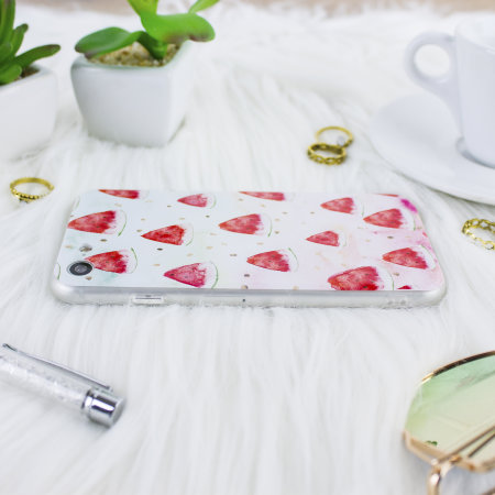 lovecases tropical paradise iphone 7 / 8 case kit - watermelon