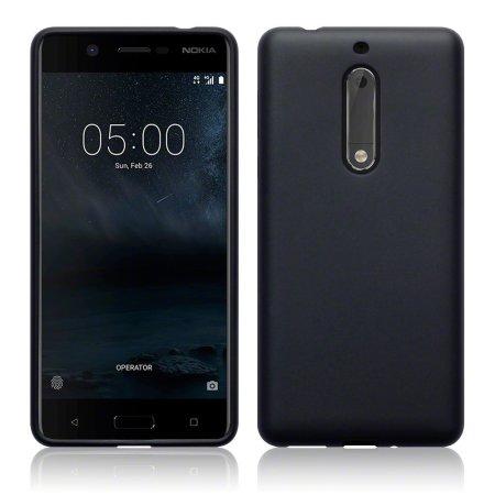 Olixar FlexiShield Nokia 5 Deksel - Svart