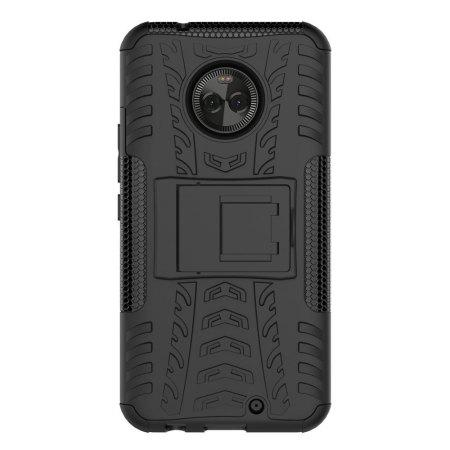 Olixar ArmourDillo Motorola Moto X4 Case - Zwart