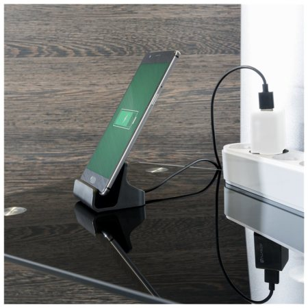 4smarts VoltDock Universal USB-C Desktop Charge & Sync Dock