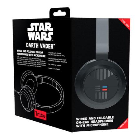 Casque Star Wars Dark Vador avec micro et télécommande - Noir