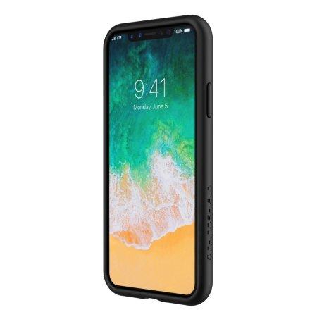 quality design c8525 94a81 RhinoShield CrashGuard iPhone X Bumper Case - Black