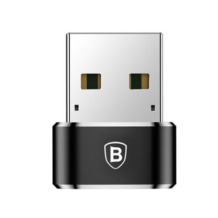 Baseus USB Type-C to USB-A Adapter - Black
