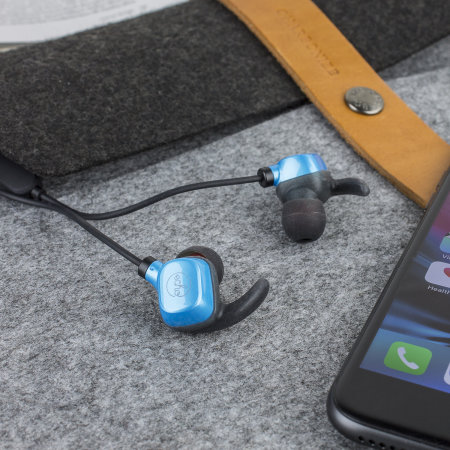 EchoVibes Bluetooth Wireless In-Ear Waterproof Fitness Earphones