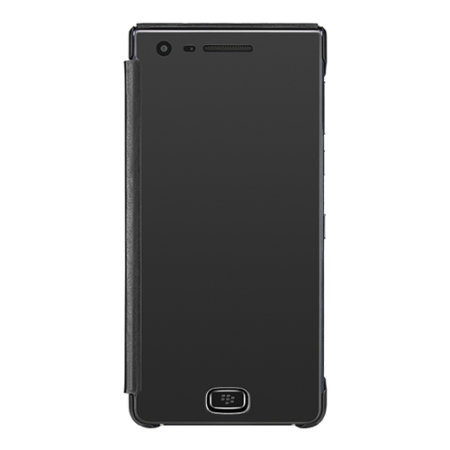 Official BlackBerry Motion Peep Proof Privacy Flip Case - Black