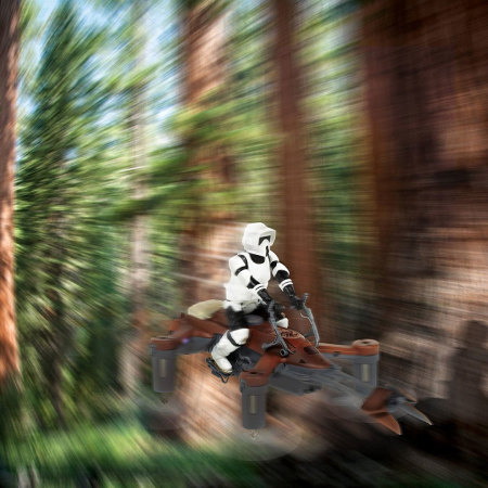 Propel Star Wars 74-Z Speeder Bike Battle Drone