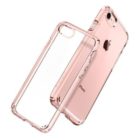 Spigen Ultra Hybrid iPhone 7/iPhone 8 Skal - Rosé Kristall
