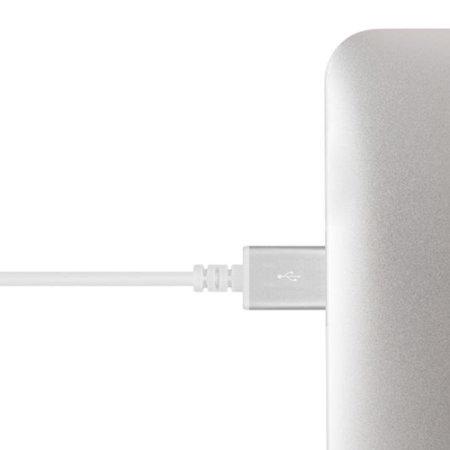 Moshi MFi 90 Degree Angled USB to Lightning Cable - 1.5M - White