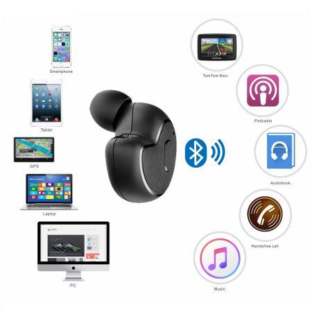 Avantree Mini Wireless Bluetooth Headset - Two Pack