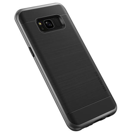 VRS Design High Pro Shield Samsung Galaxy S8 Hülle - Silber