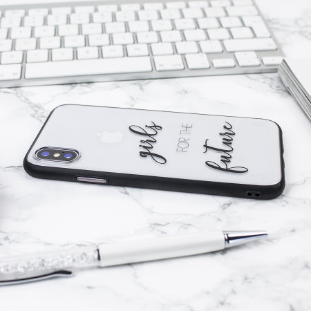 lovecases statement iphone x case - girls for the future