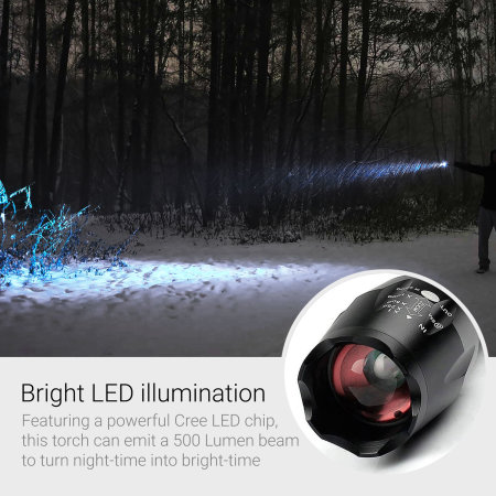 ZumiLumi Aluminium Pocket-Sized Tactical LED Torch