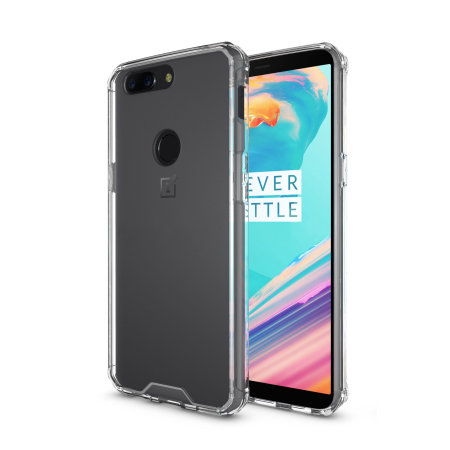 Olixar ExoShield Tough Snap-On OnePlus 5T  Case  - Crystal Clear