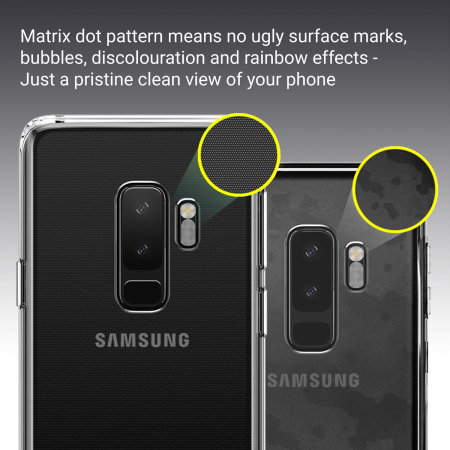 buy popular cae23 2a8b5 Samsung Galaxy S9 Plus Case - 100% Clear Olixar Ultra-Thin