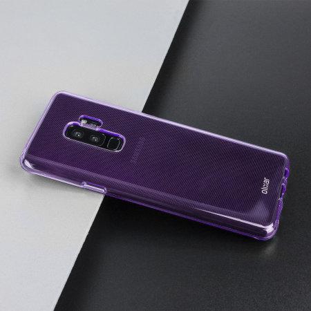 Olixar FlexiShield Samsung Galaxy S9 Plus Gel Case - Orchidee grijs