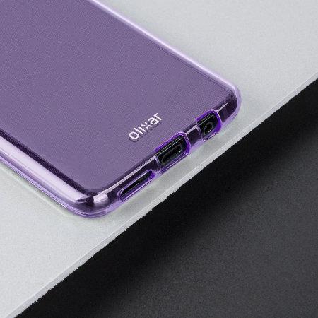 sports shoes 61515 1aafd Olixar FlexiShield Samsung Galaxy S9 Plus Gel Case - Lilac Purple