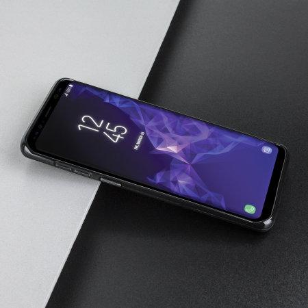 Funda Samsung Galaxy S9 Plus Olixar FlexiShield Gel - Negra