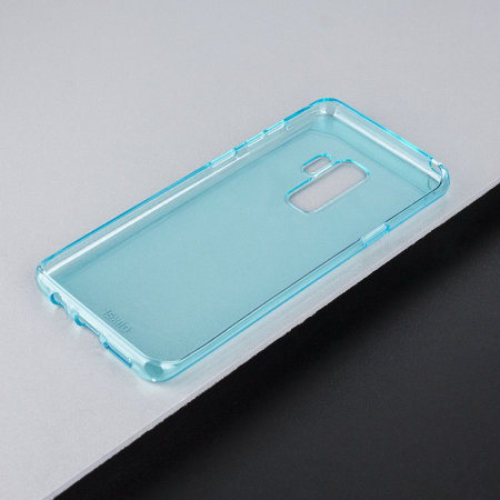 Olixar FlexiShield Samsung Galaxy S9 Plus Gel Case - Coral Blue